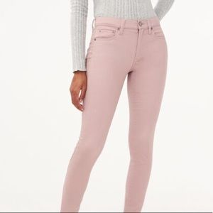 Aeropostale high waisted pink jeggings size 00
